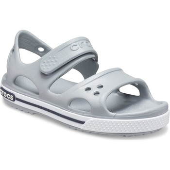 Shoes Children Water shoes Crocs 14854-01U-C5 Kids Crocband ll Sandal Light Grey and Navy