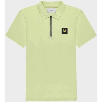 Clothing Men Short-sleeved polo shirts Lyle & Scott  Green