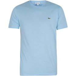 Clothing Men Short-sleeved t-shirts Lacoste Logo T-Shirt blue