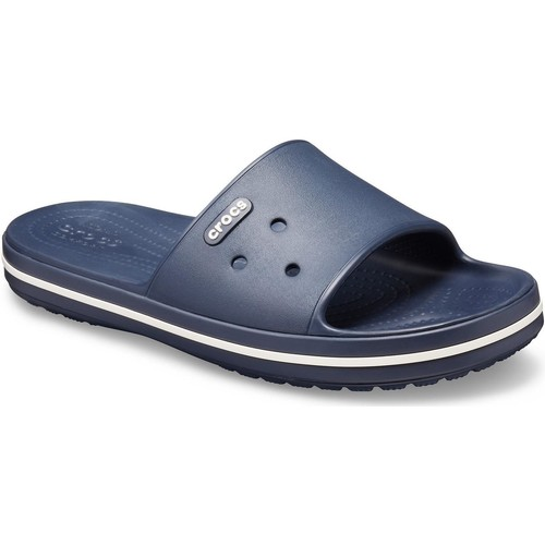 Shoes Sliders Crocs 205733-462-M4W6 Crocband lll Slide Navy and White