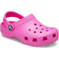 Shoes Girl Clogs Crocs 204536-6QQ-C4 Kids Classic Clog Electric Pink
