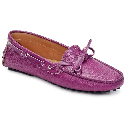 Shoes Women Loafers Etro MOCASSIN 3773 Purple