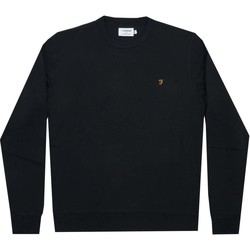Clothing Men Track tops Farah Tim Crew black