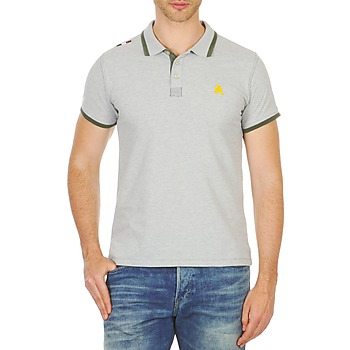 Clothing Men short-sleeved polo shirts A-style LIVORNO Grey