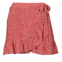 Clothing Women Skirts Betty London OLINDA Red / White