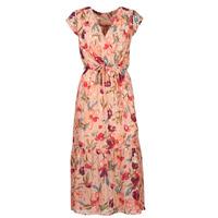 Clothing Women Long Dresses Moony Mood OLICA Pink / Multicolour