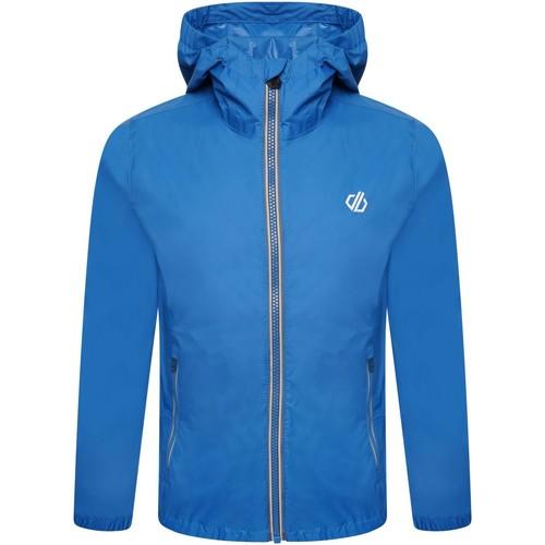 Clothing Children Parkas Dare 2b AMIGO Water-Repellent Lightweight Jacket Blue