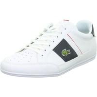 Shoes Men Derby Shoes & Brogues Lacoste Chaymon White
