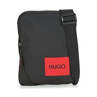 Bags Men Pouches / Clutches HUGO Ethon_NS zip Black
