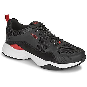 Shoes Men Low top trainers HUGO BLOCK RUNN Black