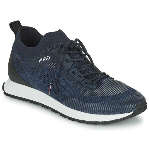 Shoes Men Low top trainers HUGO ICELIN RUNN Marine