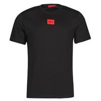 Clothing Men Short-sleeved t-shirts HUGO DIRAGOLINO Black / Red