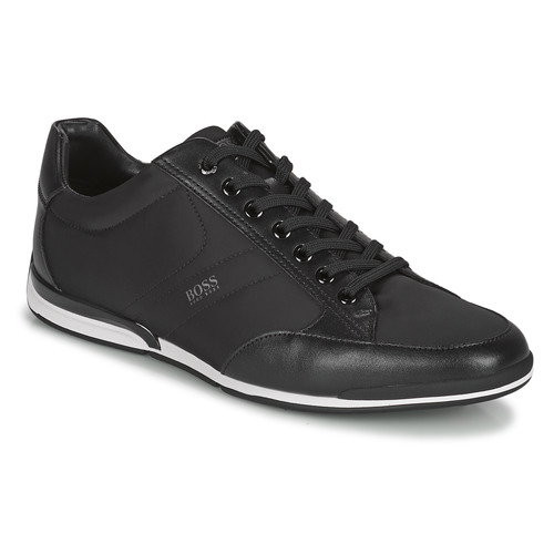Shoes Men Low top trainers BOSS SATURN LOWP NYS Black