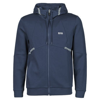 Clothing Men Sweaters BOSS SAGGY Blue