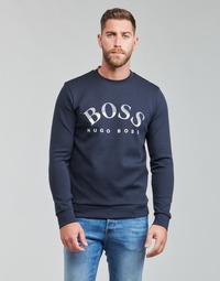Clothing Men Sweaters BOSS SALBO Marine