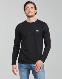 Clothing Men Long sleeved tee-shirts BOSS TOGN CURVED Black