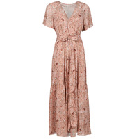 Clothing Women Long Dresses Betty London OTSANA Pink