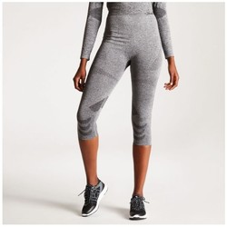 Clothing Women Leggings Dare 2b Women's Zonal III 3/4 Legging Base Layer Grey