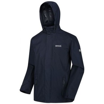 Clothing Men Coats Regatta MATT Waterproof Shell Jacket Blue