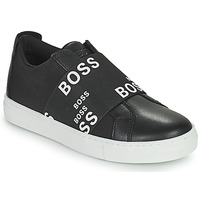Shoes Low top trainers BOSS KAMILA Black / White
