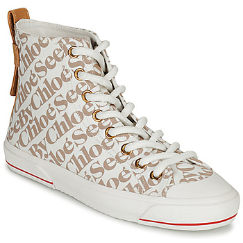 Shoes Women Hi top trainers See by Chloé ARYANA Beige