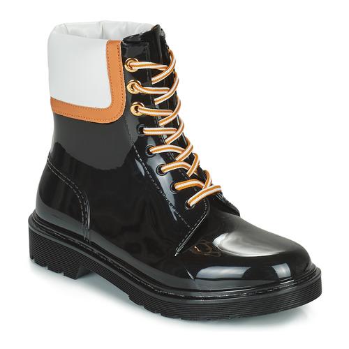 Shoes Women Wellington boots See by Chloé FLORRIE Black