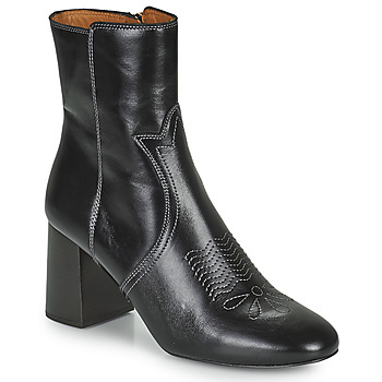 Shoes Women Ankle boots See by Chloé LIZZI Black