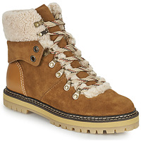 Shoes Women Snow boots See by Chloé EILEEN Camel