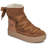 Shoes Women Snow boots See by Chloé CHARLEE Camel