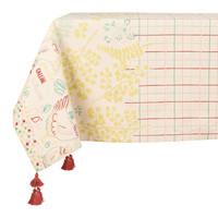Home Tablecloth Jardin d'Ulysse CODETTE White