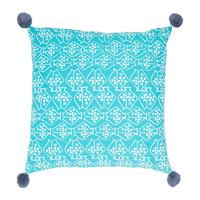 Home Cushions Jardin d'Ulysse CAP-OUEST Blue
