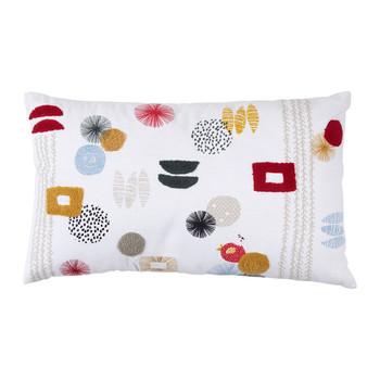 Home Cushions Jardin d'Ulysse POUL-VINT White