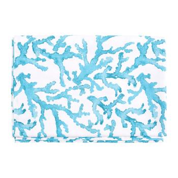 Home Tablecloth Côté Table ESTRAN Turquoise