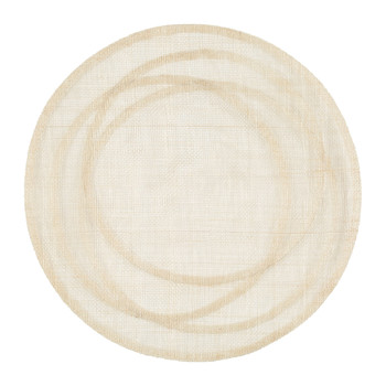 Home Place mat Côté Table ABAKA White