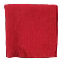 Home Napkin Côté Table BASIC Red