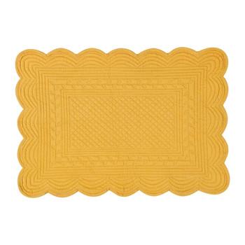 Home Place mat Côté Table BOUTIS Mustard