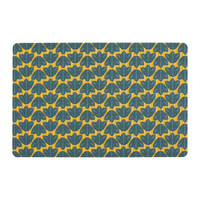 Home Place mat Sema FEUILLAGE Blue