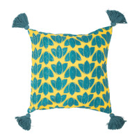 Home Cushions covers Sema FEUILLAGE Blue
