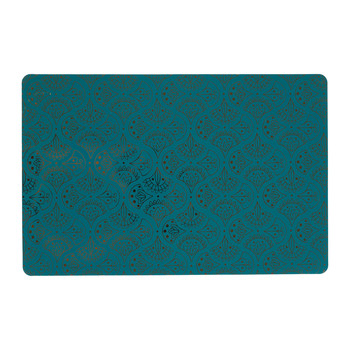 Home Place mat Sema SURO Blue / Emerald