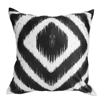 Home Cushions Sema Losanges Black