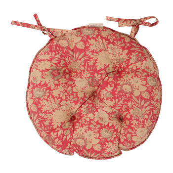 Home Chair cushion Comptoir de famille MARGOT Red
