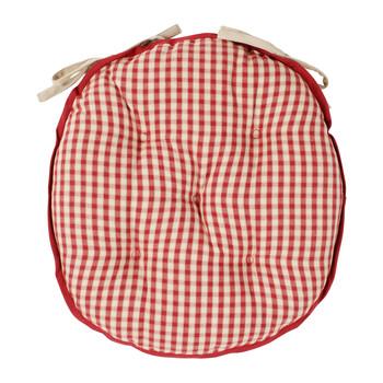 Home Chair cushion Comptoir de famille MAMI Red