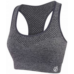 Clothing Women Tops / Blouses Dare 2b DONT SWEAT IT Sports Bra Grey