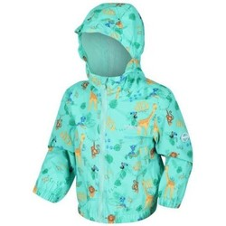 Clothing Children Coats Regatta ELLISON Waterproof Shell Jacket Green