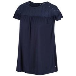 Clothing Women Tops / Blouses Regatta ABITHA TShirt Blue
