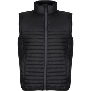 Clothing Men Coats Professional Men's Honestly Made 100% Recycled Insulated Bodywarmer Black
