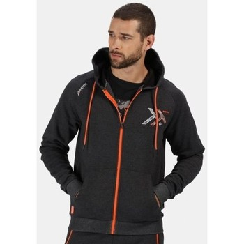 Clothing Men Fleeces Professional Men's Tactical Maneuvar Hooded Full Zip Fleece Grey