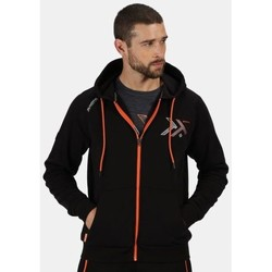 Clothing Men Fleeces Professional Men's Tactical Maneuvar Hooded Full Zip Fleece Black