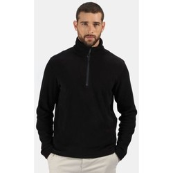 Clothing Men Fleeces Professional Men's Honestly Made 100% Recycled Half Zip Fleece Black