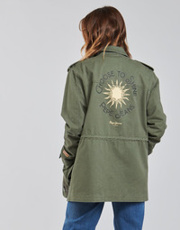 Clothing Women Parkas Pepe jeans NELLY Green